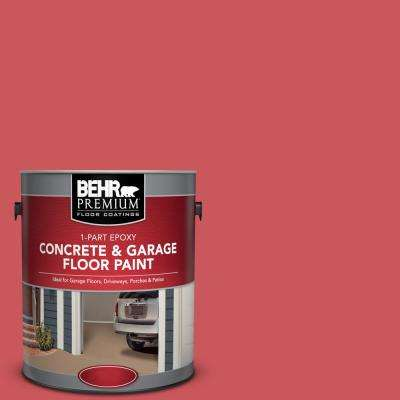 1 gal. #P160-5 Pinkadelic 1-Part Epoxy Satin Interior/Exterior Concrete and Garage Floor Paint
