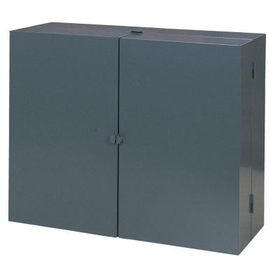 24 in. H x 30 in. W x 11 in. D Steel Wall Mounted Cabinet Tool Storage in Gray