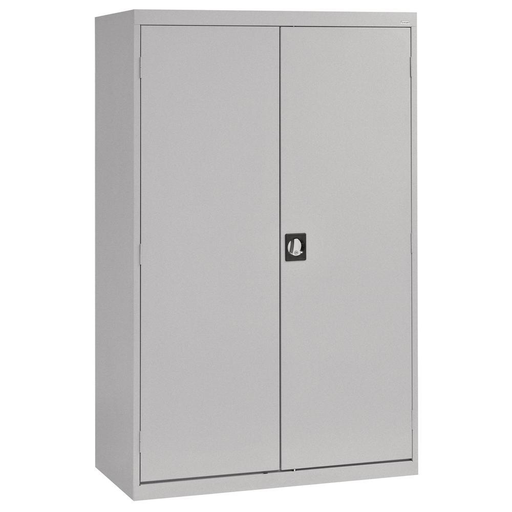 Sandusky Elite Series 72 in. H x 46 in. W x 24 in. D 5-Shelf Steel Recessed Handle Storage Cabinet in Multi Granite
