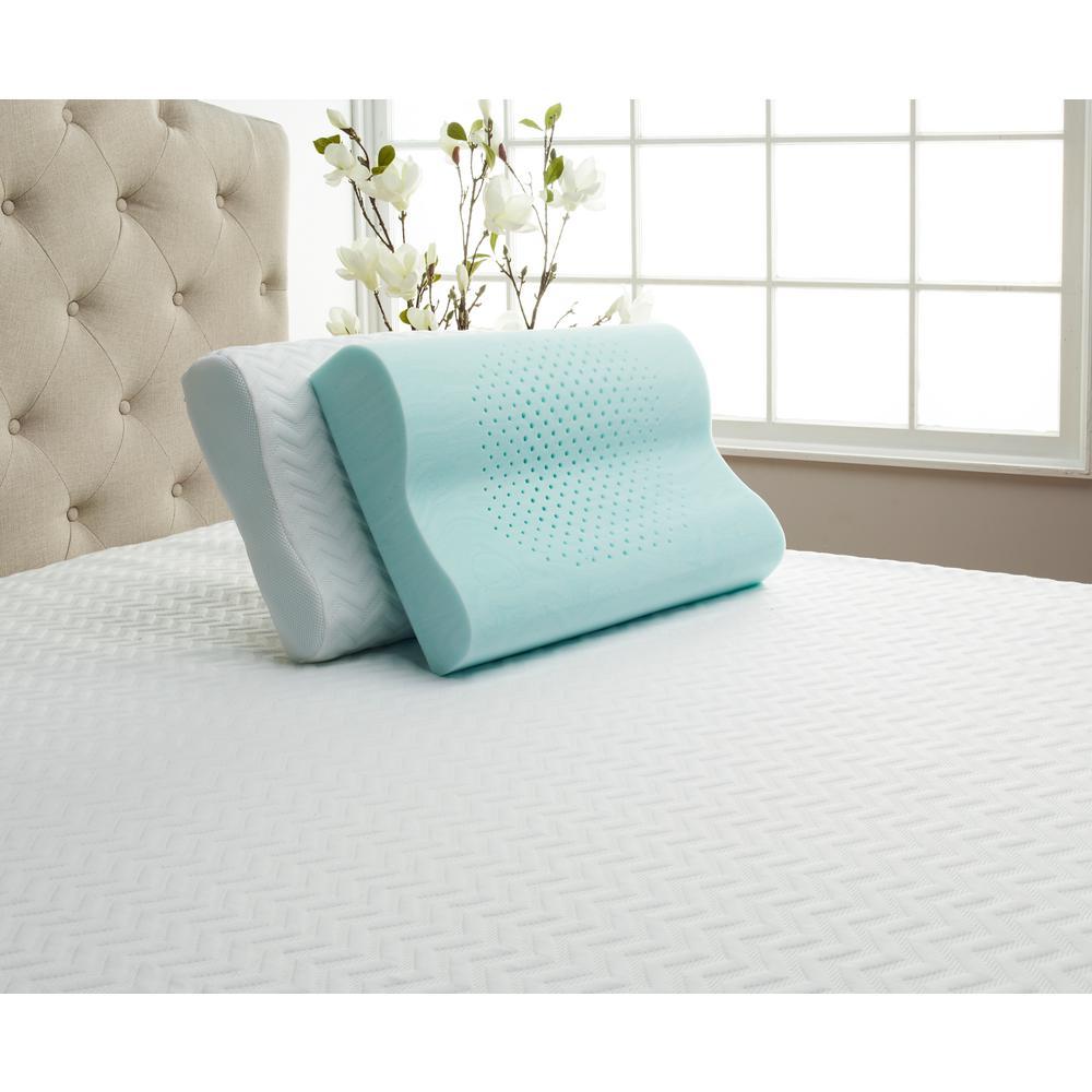 Serene Foam Contour Queen Pillow