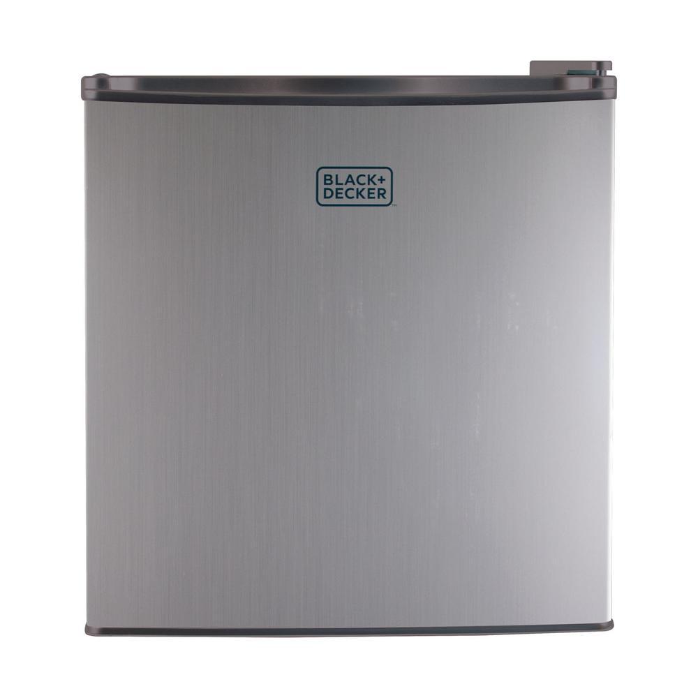 1.7 cu. ft. Mini Refrigerator in Silver