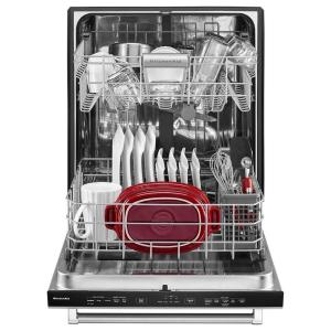 So Sku 1001292967 11 Kitchenaid Top Control Built In Dishwasher Panel Ready With Stainless Steel
