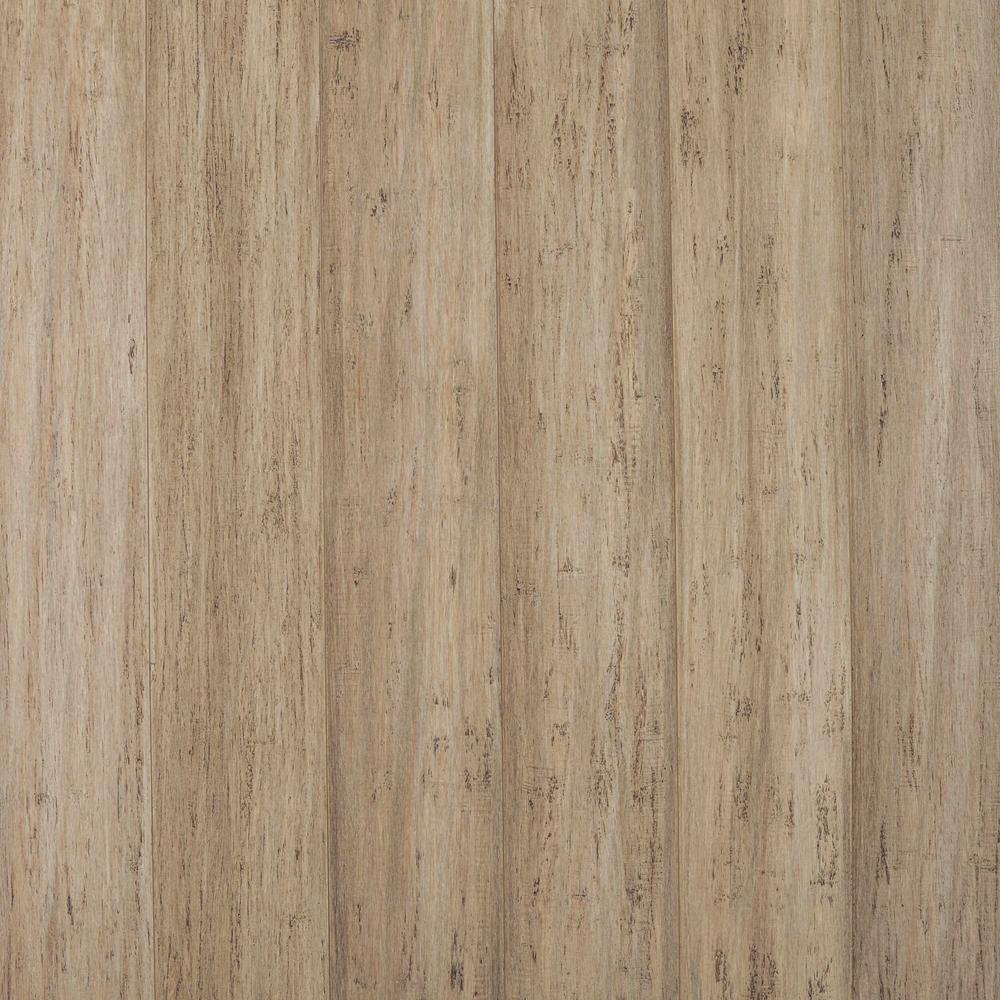 Stargazer 7 mm T x 5.2 in W x 36.22 in L Waterproof Engineered Click Bamboo Flooring (15.45 sq. ft./case)