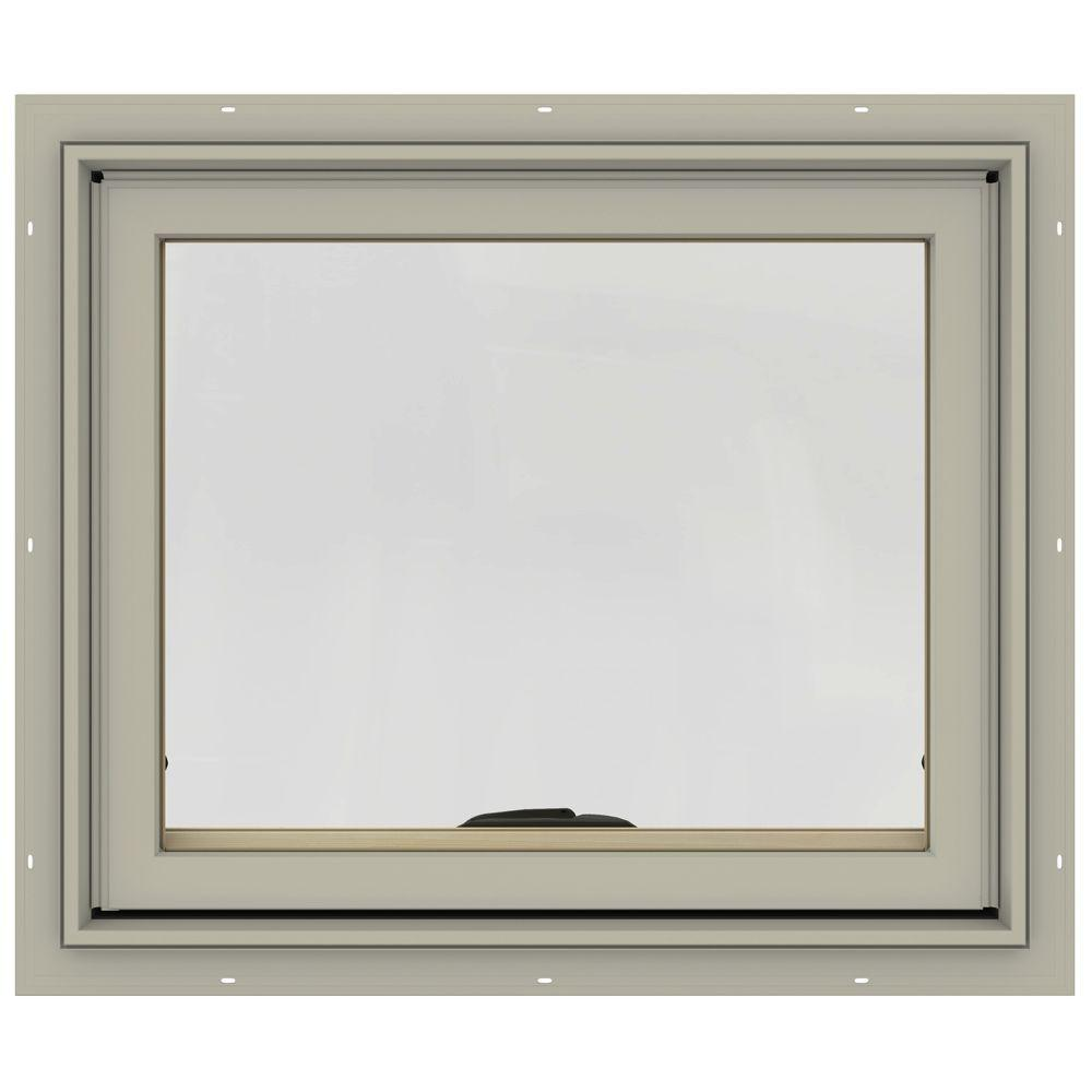 24 in. x 20 in. W-2500 Series Desert Sand Painted Clad