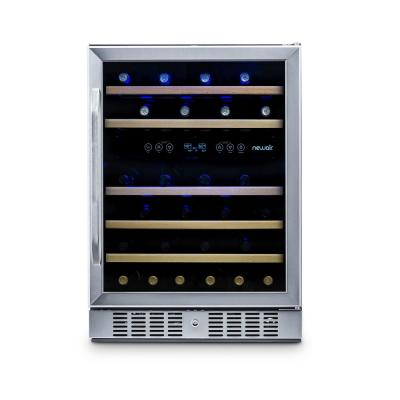 23.5 In. 46 Bottle Dual Zone Freestanding or Built-In Wine Cooler