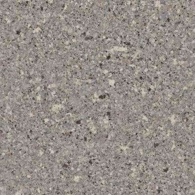 4 in. x 4 in. Stone Effect Vanity Top Sample in Mineral Gray