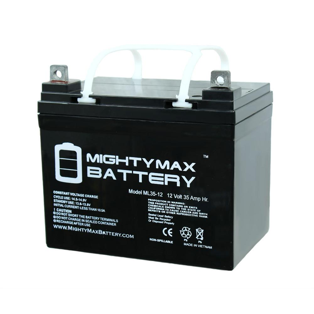 Mighty Max Battery 12 Volt 18 Ah Sealed Lead Acid Sla Rechargeable Battery Ml18 12 The Home Depot