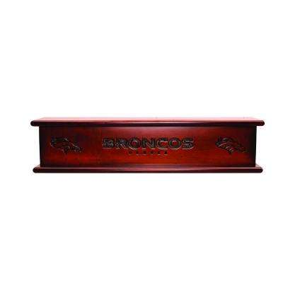 Denver Broncos 1.7 ft. Memorabilia Cap-Shelf Mantel