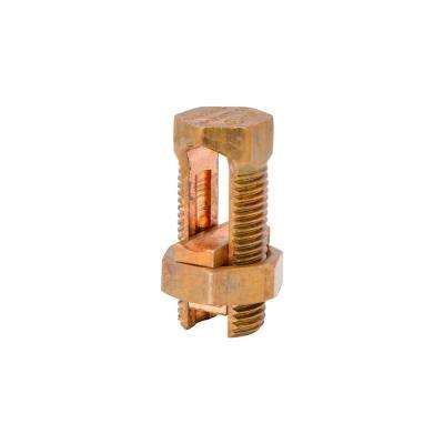 #2 SOL/STR to #8 SOL/STR Split Bolt Connector (5-Pack)