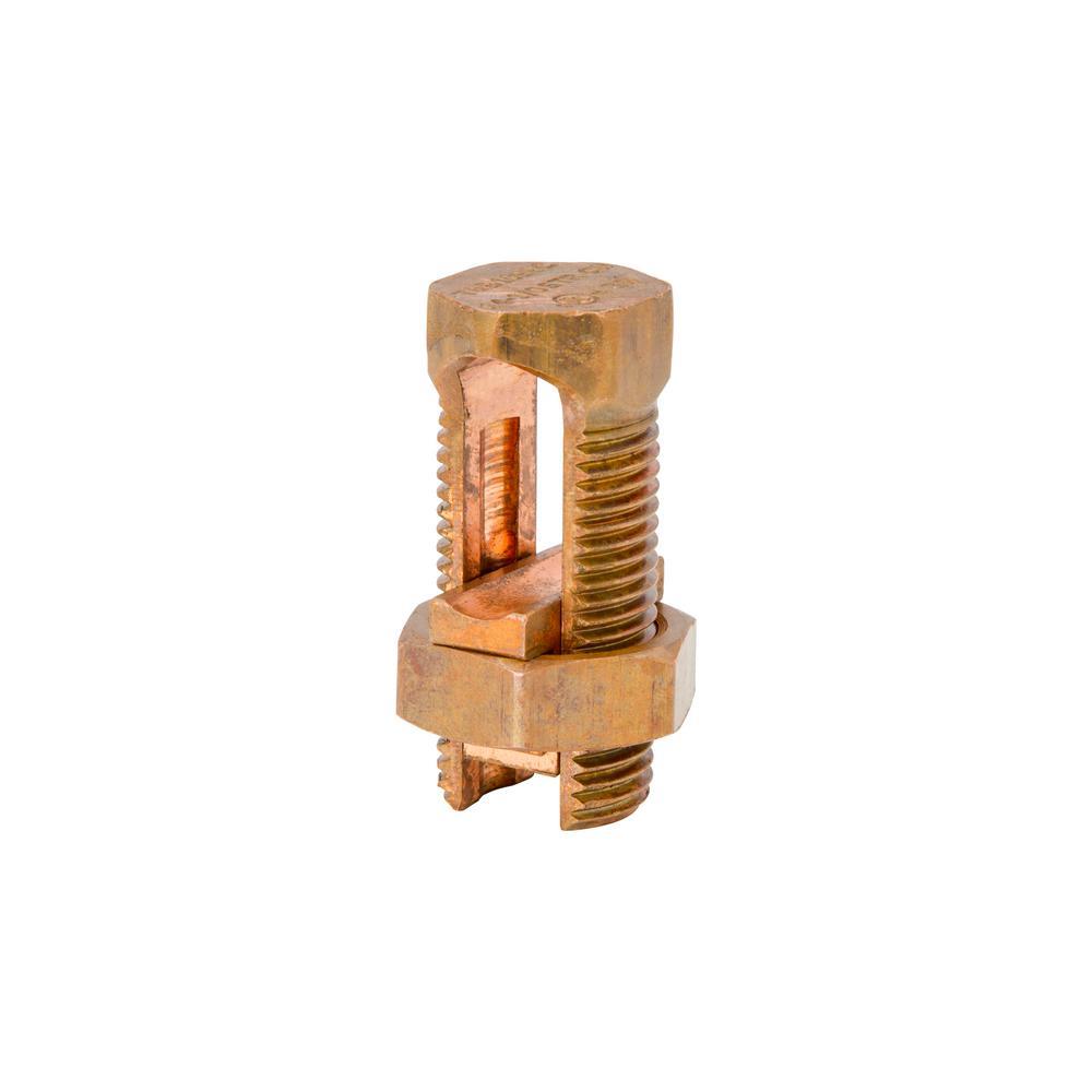 #2 SOL/STR to #8 SOL/STR Split Bolt Wire Connector (5-Pack)
