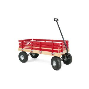 Click here to buy Berlin Flyer Loadmaster Wooden Wagon by Berlin Flyer.
