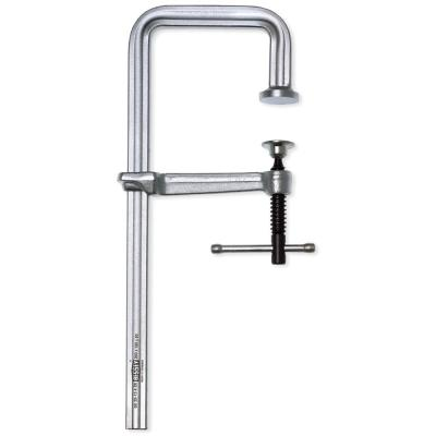 J Series Step-Over Clamp, Light Duty, 10 In. Capacity 4-3/4 In. Throat Depth, Step-Over Up To 2-1/4 In.