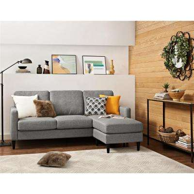 Jenny Contemporary 1 Piece Gray Sectional