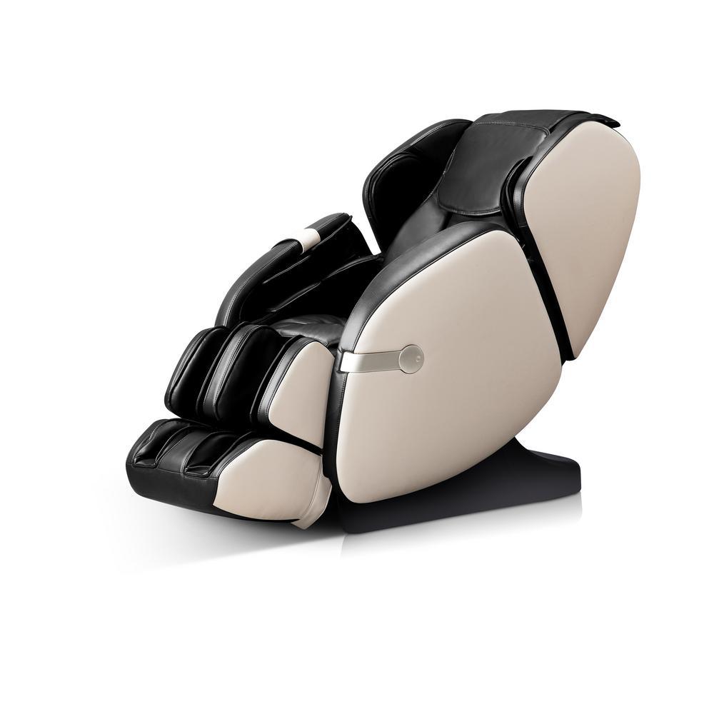 WES41-680-BLK Black Faux Leather Massage Chair