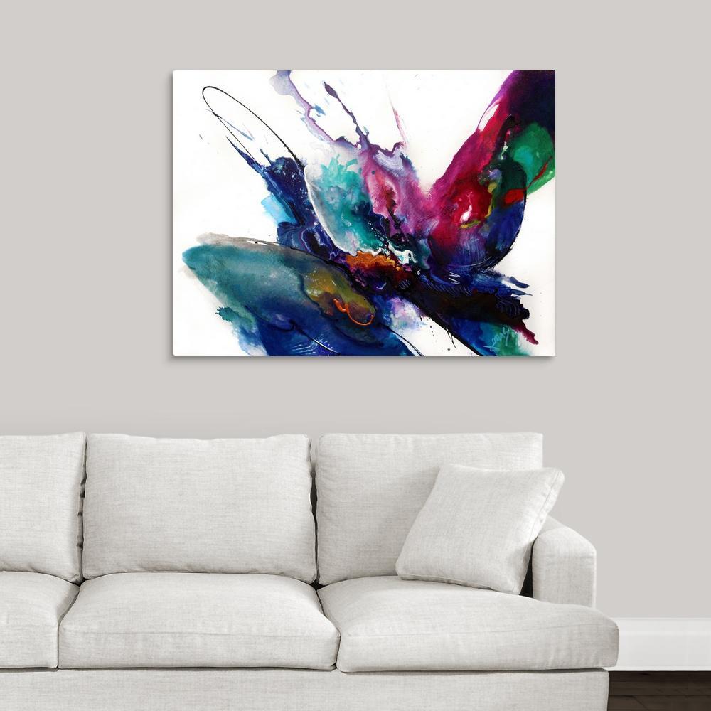 """Impulse IV"" by  Jonas Gerard Canvas Wall Art"