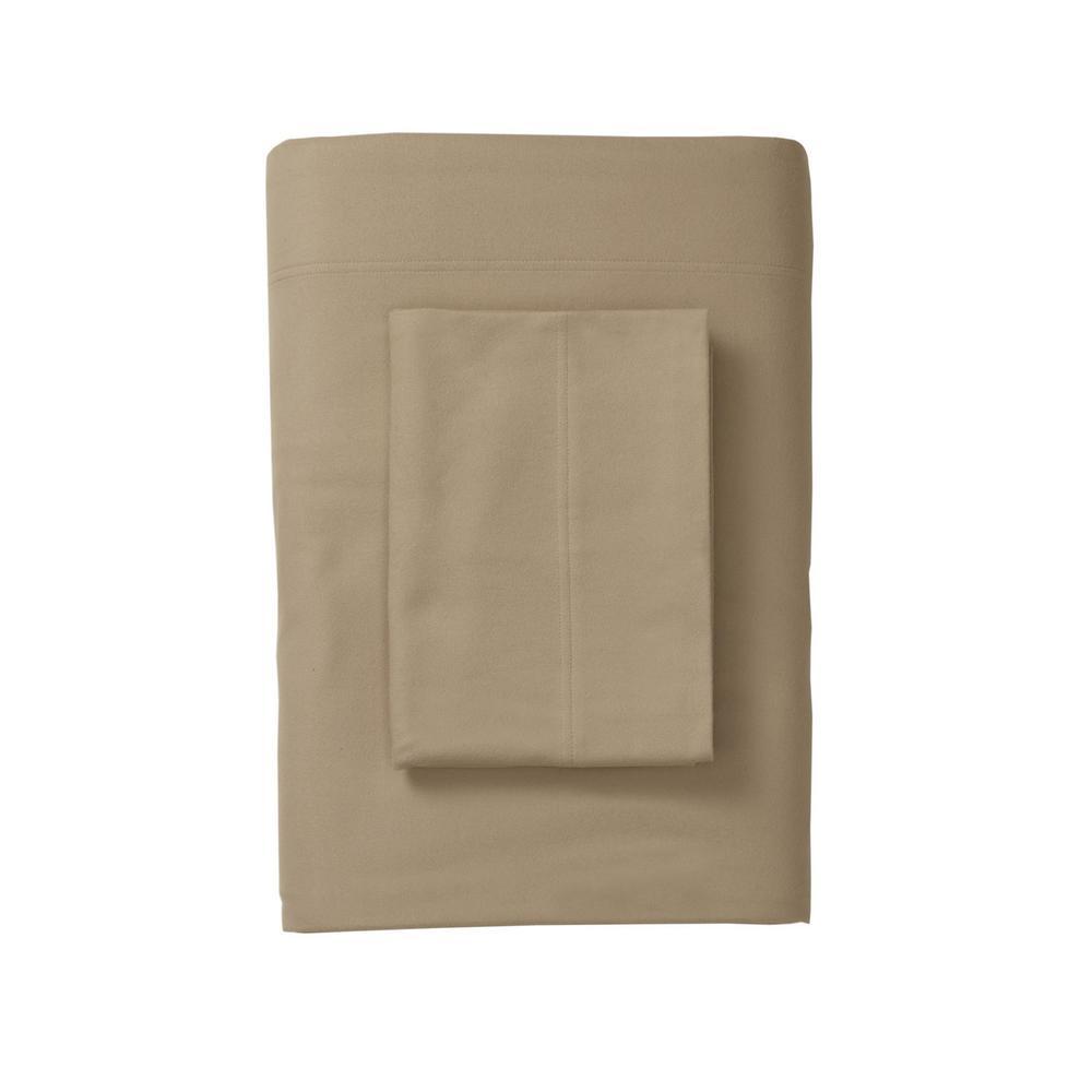 Legacy Cafe Velvet Flannel Queen Flat Sheet