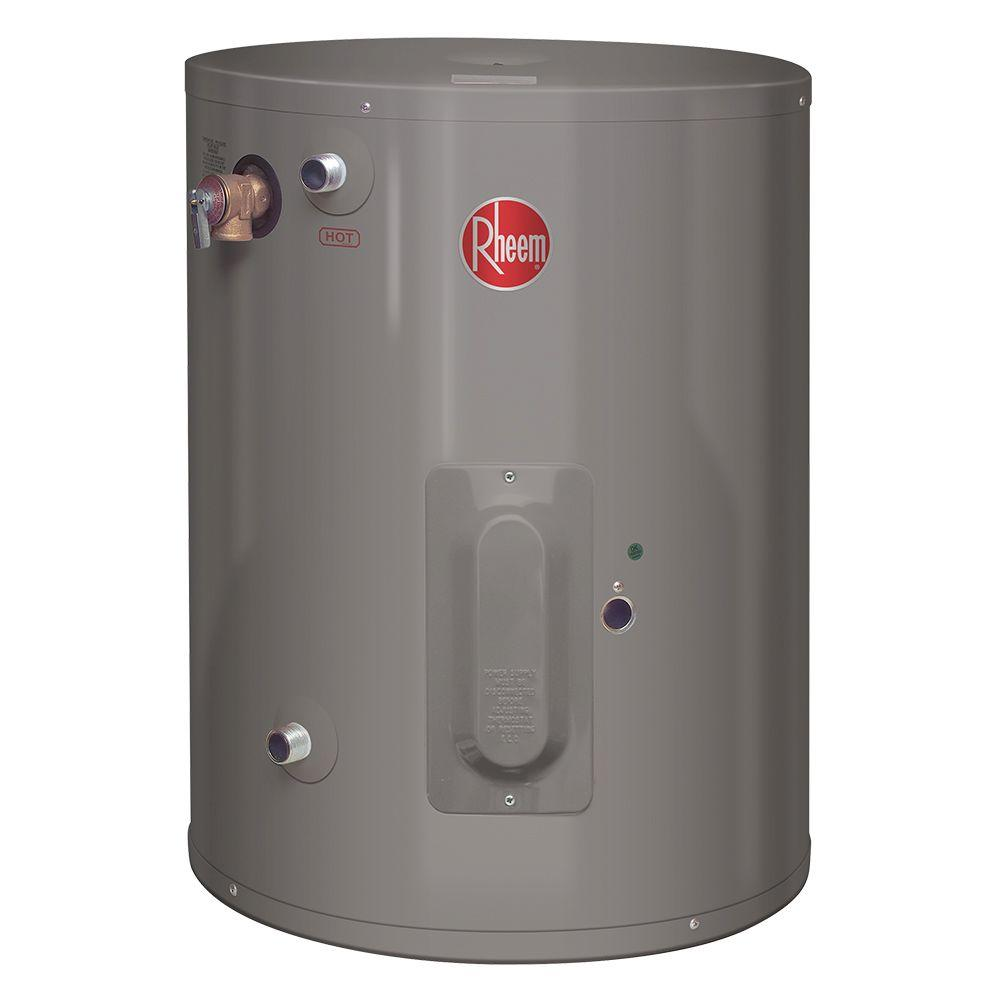 Rheem Performance 20 Gal 6 Year 2000 Watt Single Element Electric Point Of Use Water Heater Xe20p06pu20u0 The Home Depot