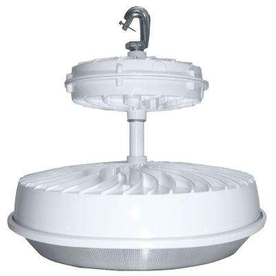 273-Watt White Integrated LED Indoor High Bay with Drop Lens