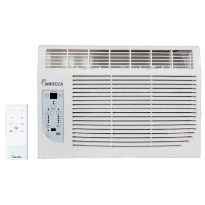 8,000 BTU 115-Volt Electronic Controlled Window Air Conditioner with Remote, ENERGY STAR