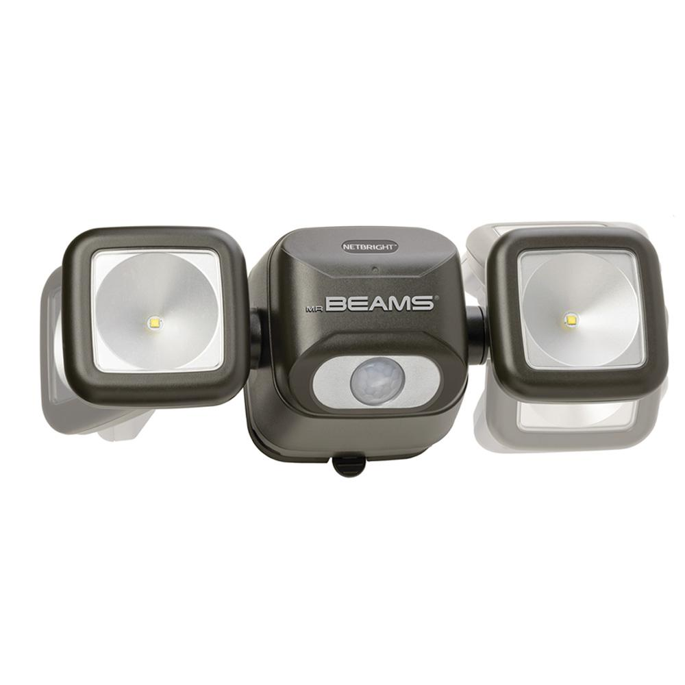 Mr Beams Netbright 140 176 Bronze Motion Activated Outdoor