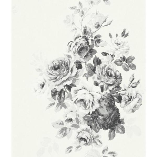 Magnolia Home by Joanna Gaines 56 sq.ft. Tea Rose Wallpaper ME1534