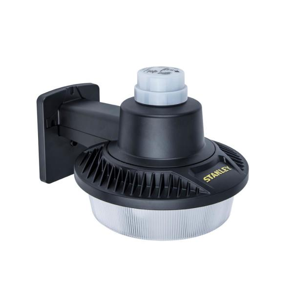 500-Watt Equivalent Integrated LED Black 5000 Lumens Dusk-to-Dawn Area Light