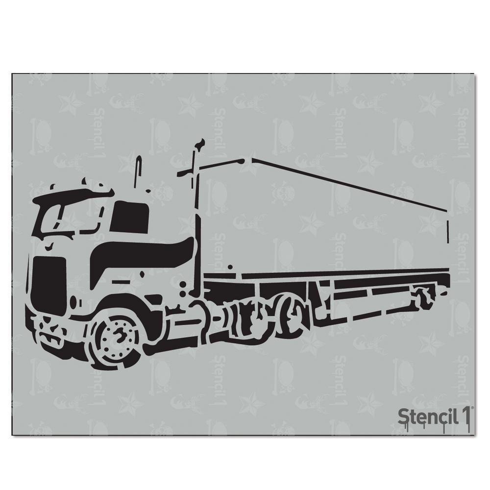 Big Rig Stencil