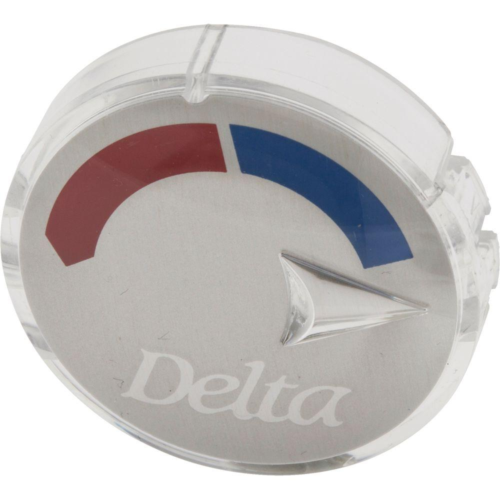 Delta Tub And Shower Hot/Cold Indicator Button-RP20542