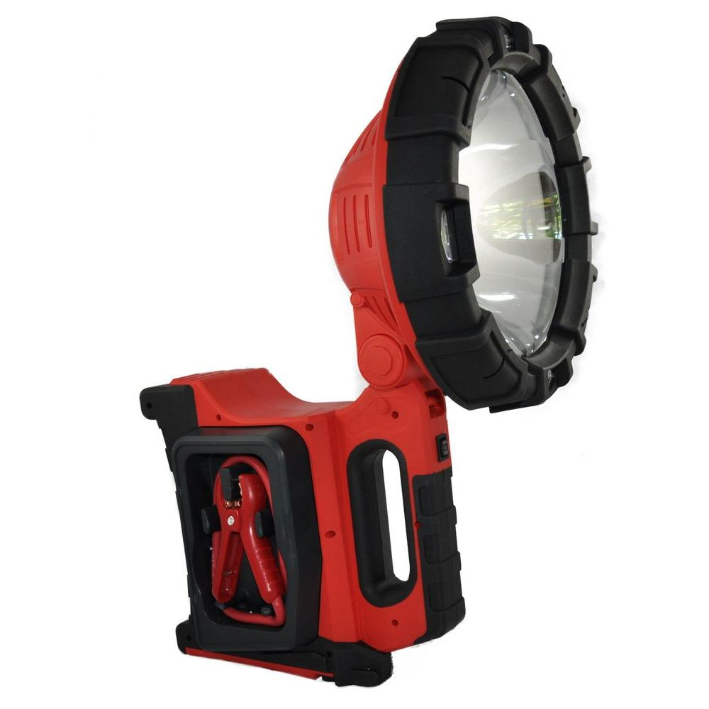 Mobile Power ResQ 12-Volt 20 Million Candle Power Searchlight with 12 LED Area Light and Vehicle Jump Starter