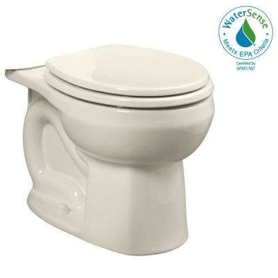 Colony Universal 1.28 GPF or 1.6 GPF Round Toilet Bowl Only in Linen