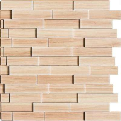 Piano Steps 24 in. x 24 in. Amati PVC Wall Panel