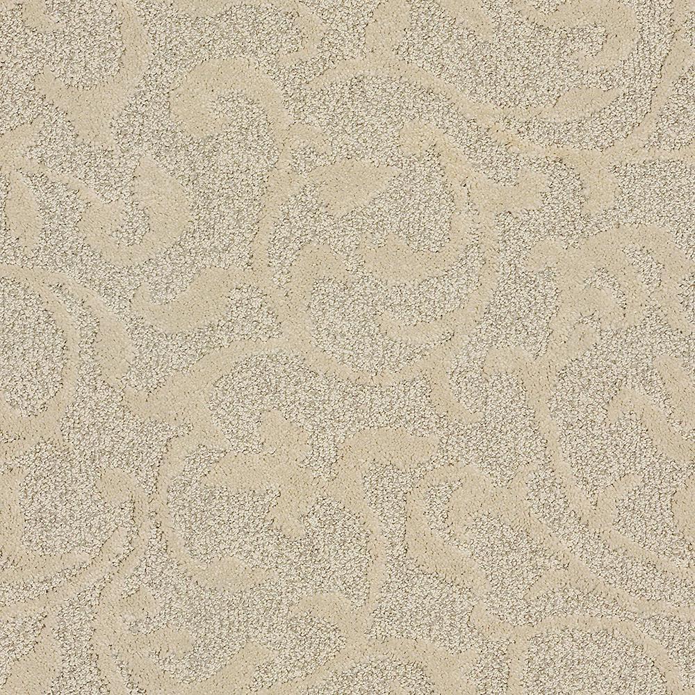 Lifeproof Swirling Vines Color Desert Sand Pattern 12 Ft