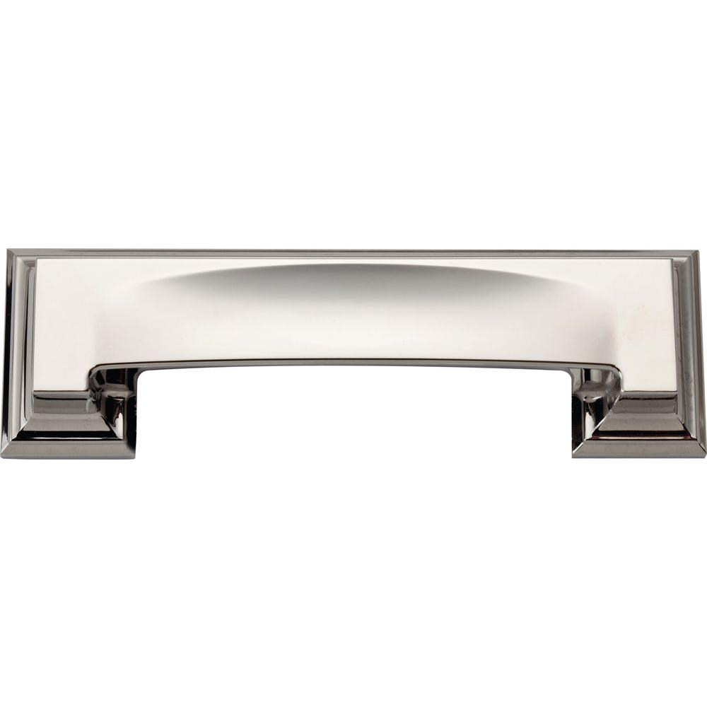 Atlas Homewares Paradigm Collection 5 In. Polished Chrome Cabinet Pull