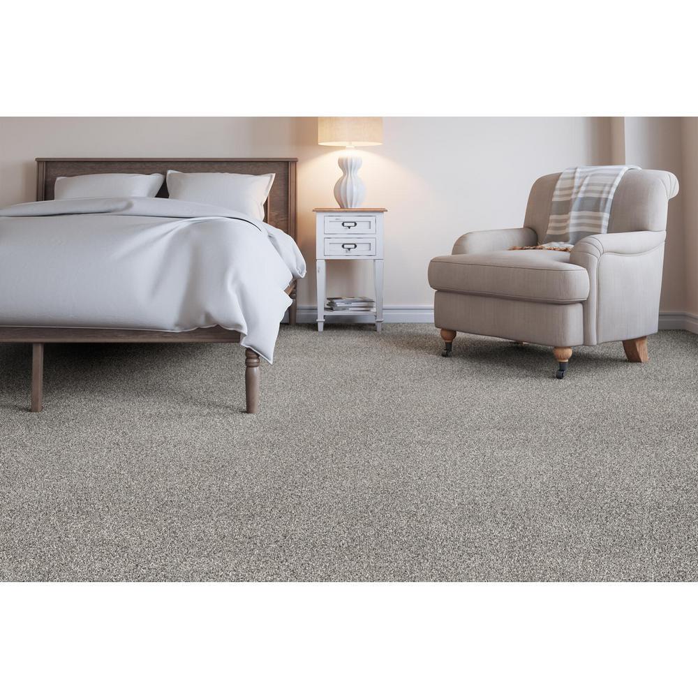 Soft Breath I - Color Alton Texture 12 ft. Carpet