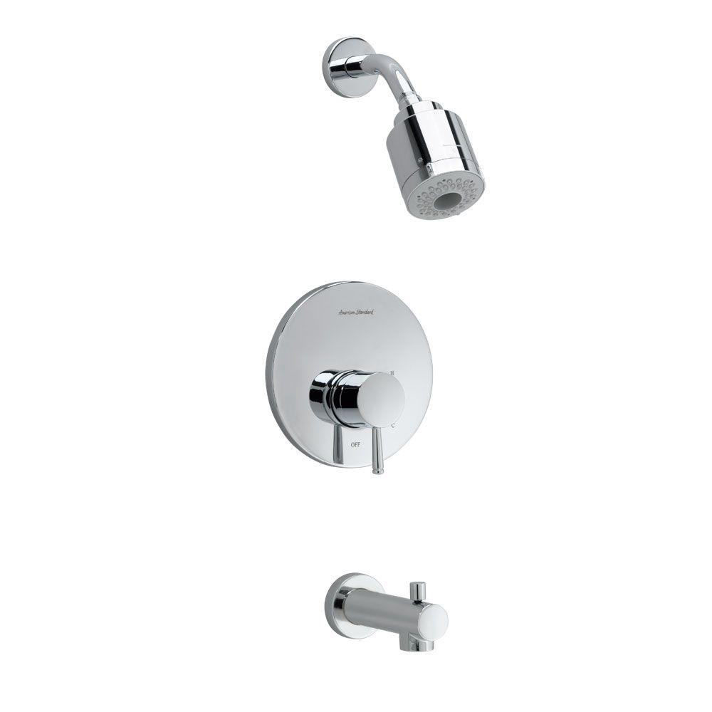Serin FloWise Pressure Balance 1-Handle Tub and Shower Faucet Trim Kit