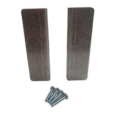 8-1/2 in. x 2-1/2 in. Wheel Guard Kit for 2-Wheel Hand Truck