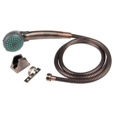 1-Spray RV Single Function Handheld Showerhead and Hose Kit in Oil Rubbed Bronze