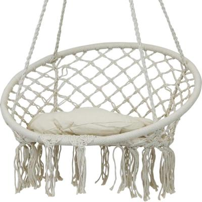 Rope Hanging Chairs Hammocks The Home Depot