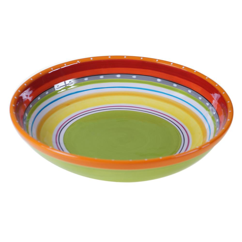 Mariachi Multi-Colored Large Serving Bowl