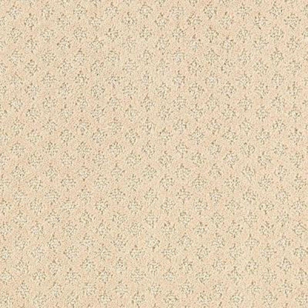 Carpet Sample - Lilypad - Color Moonbeam Pattern 8 in. x
