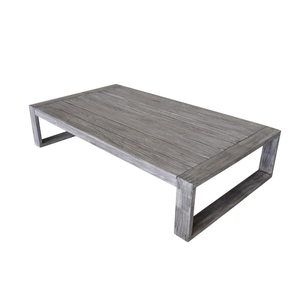 Courtyard Casual North Shore Collection Teak Outdoor Coffee Table