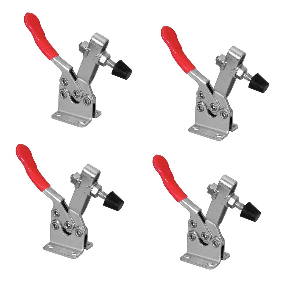 POWERTEC 300 lbs. Horizontal Quick-Release Toggle Clamp (4-Pack)