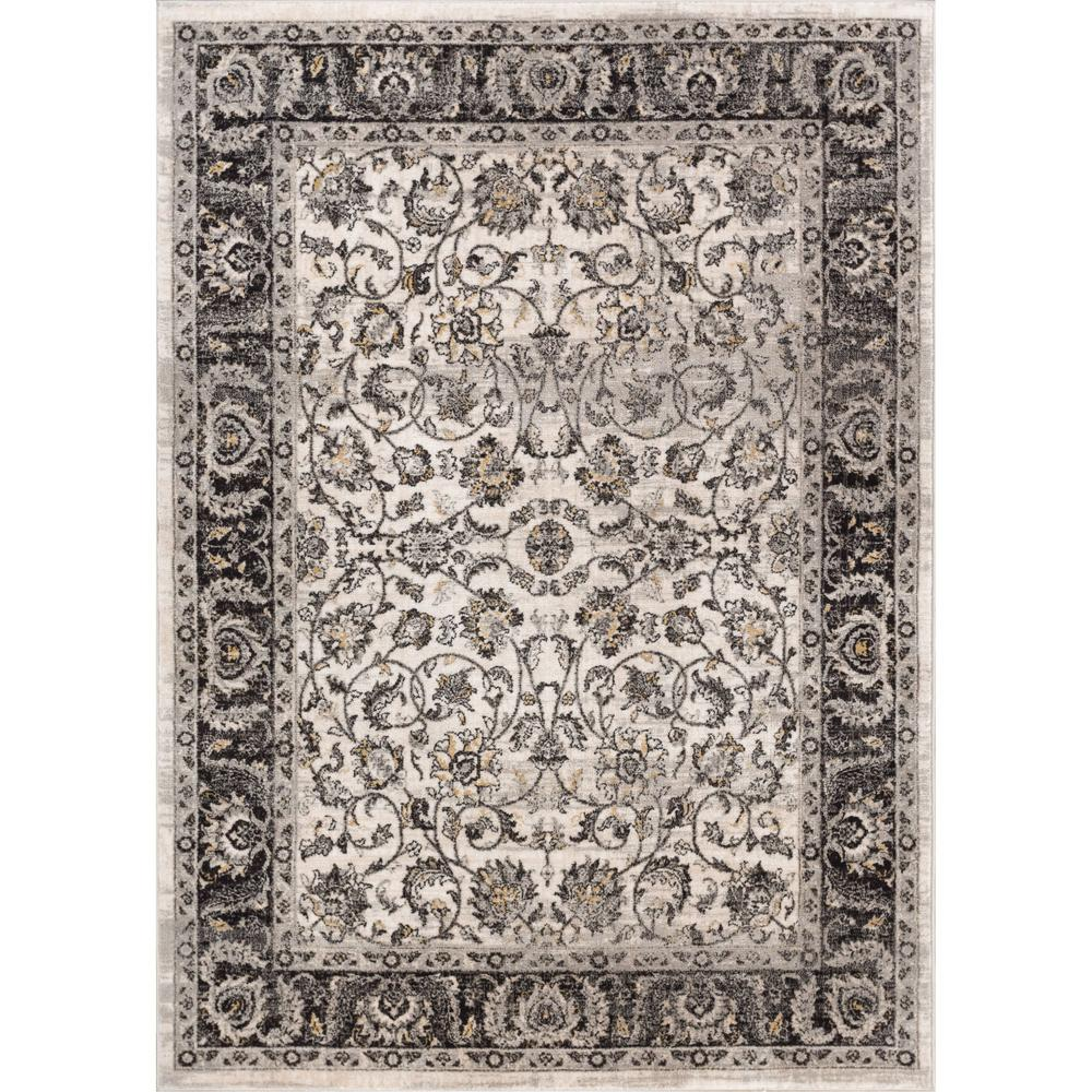 Well Woven New Age Sonoma Beige 5 Ft 3 In X 7 Traditional Vintage Distressed Oriental Area Rug P Am 12 The Home Depot