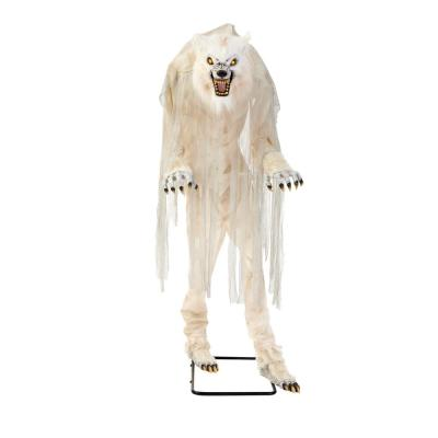 Home Accents Holiday 7 ft. Towering LED Animatronic Werewolf Prop