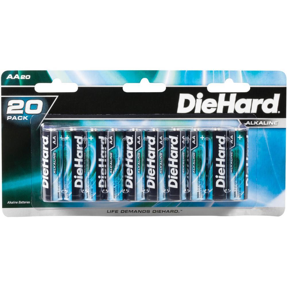 1.5-Volt AA Alkaline Batteries (20-Pack)