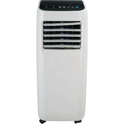6000 BTU 3000 BTU (DOE) Portable Air Conditioner with Dehumidifier in White