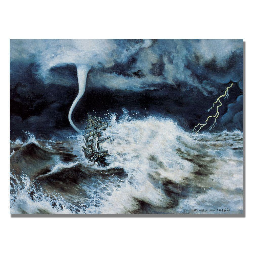 Trademark Fine Art 24 in. x 32 in. Into the Maelstrom, 1993 Canvas Art-DISCONTINUED