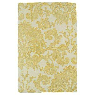 Montage Gold 8 ft. x 10 ft. Area Rug