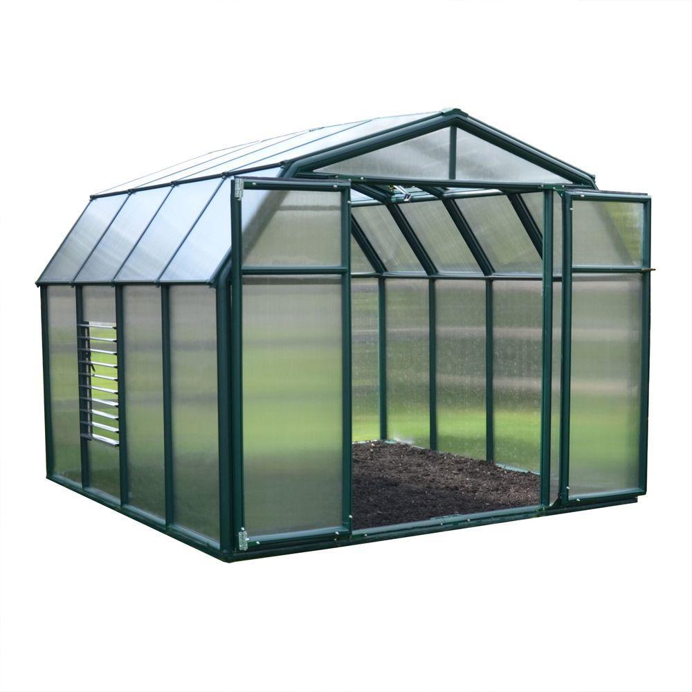 Rion Hobby Gardener 8 ft. x 8 ft. Greenhouse