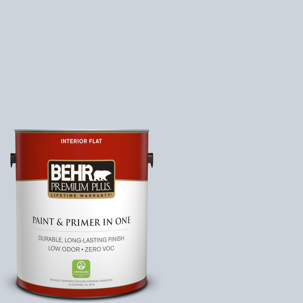 1 gal. #PPU14-17 Polar Drift Zero VOC Flat Interior Paint
